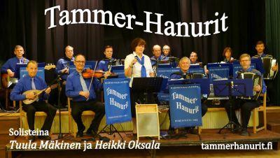 Puistokonsertit: Tammer-Hanurit, Ahjola Big Band