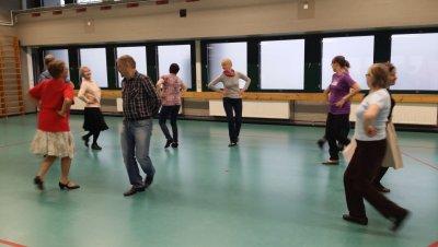 Tanssiharjoitus