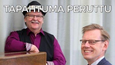 KEVÄÄN YHTEISLAULUT PERUTTU: Yhteislaulua: laulattajina Martti Kuurila ja Jussi Tamminen