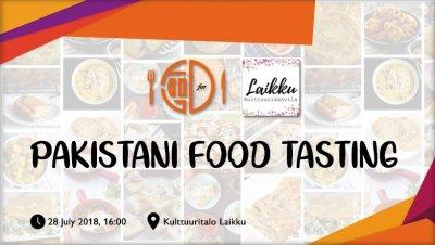 Pakistani Food Tasting