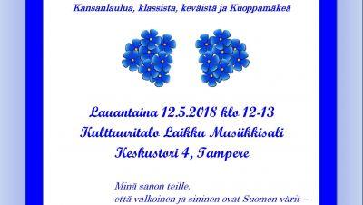 Sininen ja valkoinen - suomalaisuuden päivän konsertti