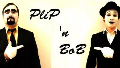 Pantomiimi-improvisaatioduo Plip 'n Bob