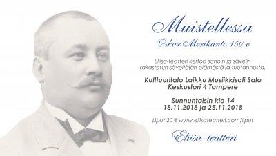 Muistellessa - Oskar Merikanto 150 v