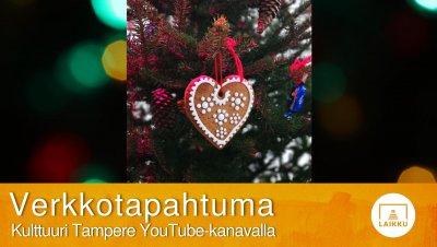VERKKOTAPAHTUMA: Vironkielinen joulutervehdys