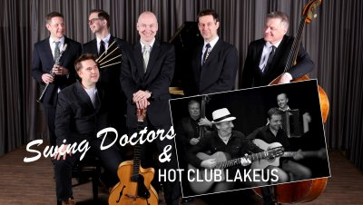Swing Doctors & Hot Cub Lakeus Laikussa
