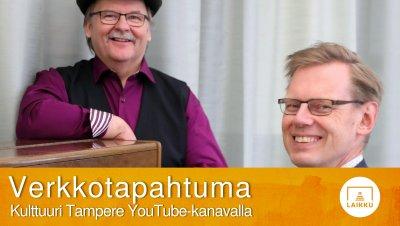 Verkkotapahtuma: #20 Yhteislaulut kotona, laulattajina Martti Kuurila ja Jussi Tamminen