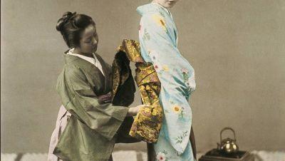 Kimonon historia