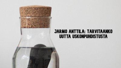 Tapahtuma peruutettu: Ruusu-Risti ry:n luento: Tarvitaanko uutta uskonpuhdistusta, Jarmo Anttila