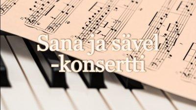 Sana ja sävel -konsertti