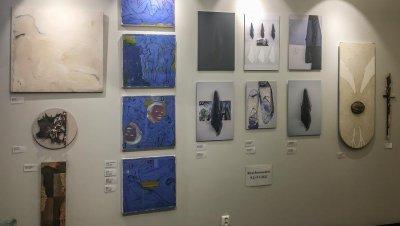 Kirsi Porrassalmen teoksia Taidelainaamon Galleriassa