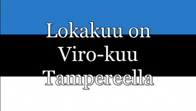 Lokakuu on Viro-kuu Tampereella: Luento ja kuvia Viron taiteesta neuvostoaikana