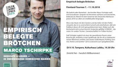 Empirisch belegte Brötchen - Musiikkia ja kabarettia   saksaksi