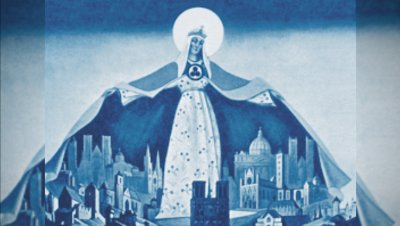 Roerich pakti – Rauha kulttuurin kautta -esitelmä Venäjäksi.