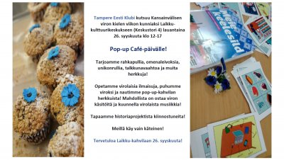 Viron pop-up kielikahvila