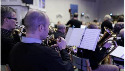Tampere Gospel Big Bandin konsertti