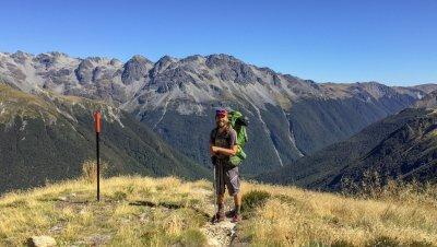 Uuden-Seelannin läpivaellus - 3000 km seikkailu