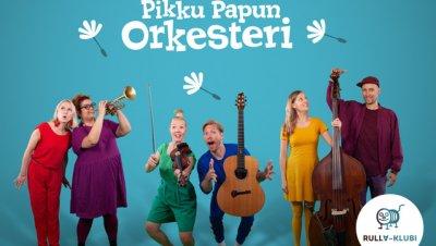 TAPAHTUMA PERUTTU: Rulla-klubi: Pikku Papun Orkesteri