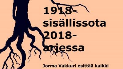 1918-sisällissota 2018-arjessa, miten runo selviää