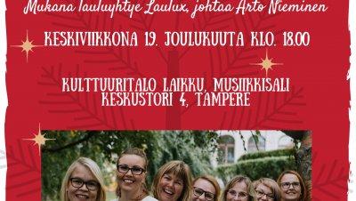 Lauluyhtye Helinän joulukonsertti