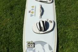 Kiteboard RRD BS3 Light Air (150x45)