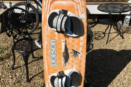 Kiteboard - RRD Poison, Limited Edition Kiteboard 132/40 Nice Condition
