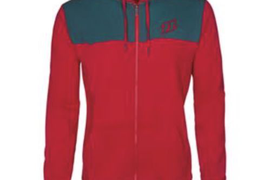 North Zip Hoody Jibe Tango red XXL
