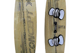 Concept x Ruler Ltd Edition Wood 135/41 Complete Tugger Board Bamboo Reduced