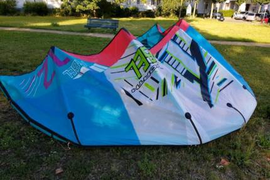 NKB North Rebel 2011 12qm kite freeride 12m2
