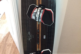 Crazy fly shox custom kiteboard