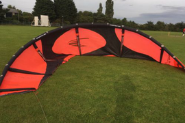 Wipika Kitesurfing Kite 13.5 Meter With Bar And Lines