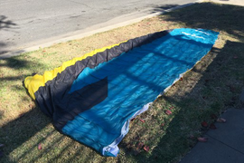 12m foil kite still in great condition. Price does  ...