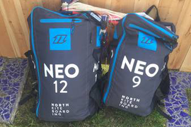 2018 North Kiteboarding NEO's and Trust Quad Bar