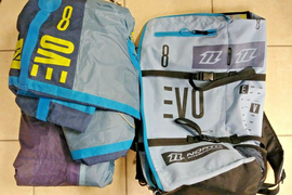 North Evo 8m 2016 Kite with bag.