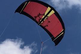 Weiterer Wassersport 1.4-2.7M Dual Line Kitesurfing Parachute Soft Parafoil Sail Surfing Flying KitLP