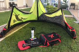 Best Kiteboarding Kite Cabo 9m - Included Control Bar and Pump