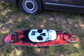 Kiteboard Waveboard RRD Toxic wave2 2010