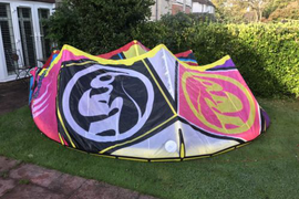 2016 RRD Obsession 9m Kitesurfing Kite *Excellent Condition* *KITESURF GEAR