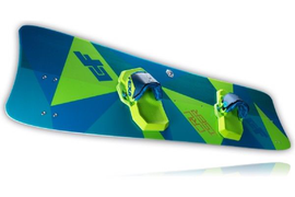 2018 CrazyFly Cruiser LW Kiteboard With Fins, Handle, and Hardware