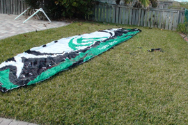Selling a standard cloth Flysurfer Speed3 12m comp  ...
