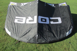 USED Core Riot XR4 Kite-5m-Black