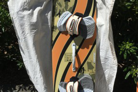 Brunotti Pro X 128cm x 38.5 kiteboard: Ride the bo  ...