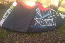 kitesurfing kite north rebel 9M