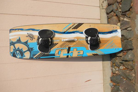 Kiteboarding board