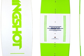 Slingshot 2018 Misfit Aircore Twin Tip Kiteboard 146