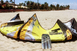 Slingshot RPM 14m Kite Bar Lines Kiteboard Kite Board Orange Yellow Black White