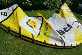 Kite Core GT 9er komplett mit Bar & Pumpe