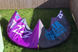 North Vegas 12m Kite with brand new bar & lines