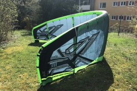 Naish Kite 14qm Top Zustand + Bar + Bag Kitesurfen Schirm Leash