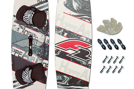 Crossover Tugger Board~F2 Hoppe Air 133 x 41 cm + Pad Set + Fins +Handle
