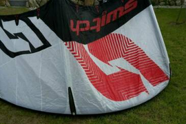 Switch Combat Kite 7m² mit Bar no Core, Naish, Slingshot, Duotone